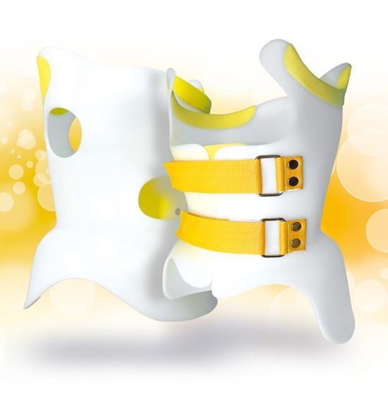 Gorsetu Cheneau, Model Standard z żółtymi paskami